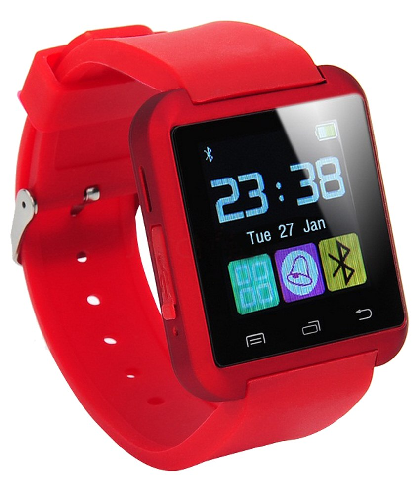 Smartwatch U8 1 48 Bluetooth Smart Watch Red