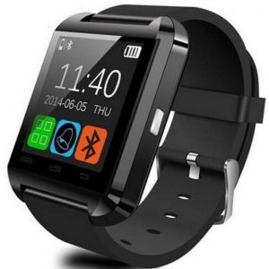 Smart Watch U8 Bluetooth Watch - Black