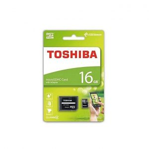 Toshiba 16gb Micro SD Memory Card