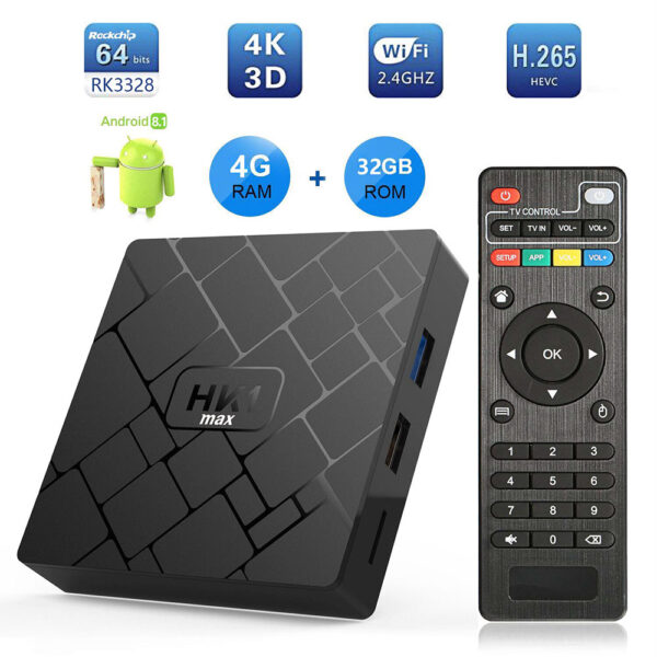 HK1 Max Android TV Box