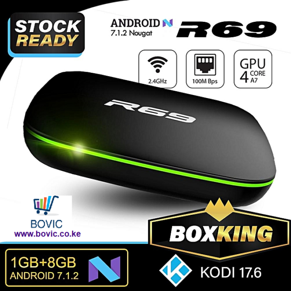 R69 Android Box Bovic Enterprises png